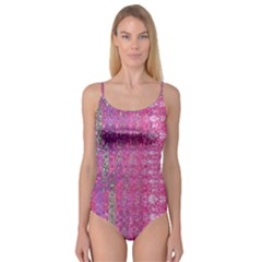 Purple Splash And Pink Shimmer Created By Flipstylez Designs Camisole Leotard