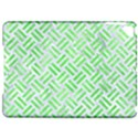 WOVEN2 WHITE MARBLE & GREEN WATERCOLOR (R) Apple iPad Pro 9.7   Hardshell Case View1