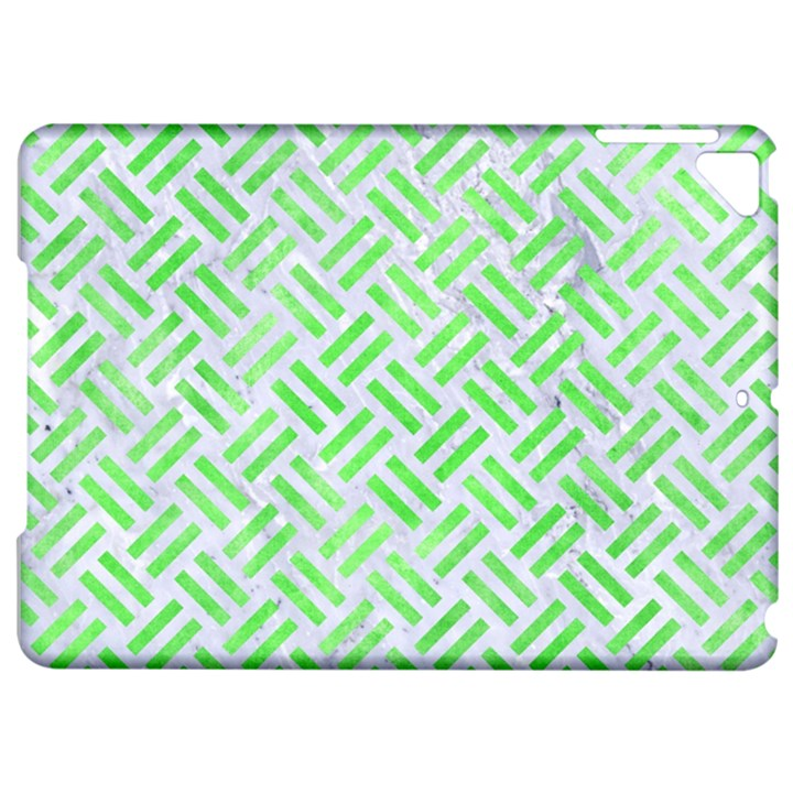 WOVEN2 WHITE MARBLE & GREEN WATERCOLOR (R) Apple iPad Pro 9.7   Hardshell Case
