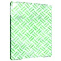 WOVEN2 WHITE MARBLE & GREEN WATERCOLOR (R) Apple iPad Pro 9.7   Hardshell Case View2
