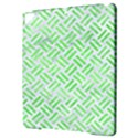 WOVEN2 WHITE MARBLE & GREEN WATERCOLOR (R) Apple iPad Pro 9.7   Hardshell Case View3