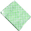 WOVEN2 WHITE MARBLE & GREEN WATERCOLOR (R) Apple iPad Pro 9.7   Hardshell Case View4