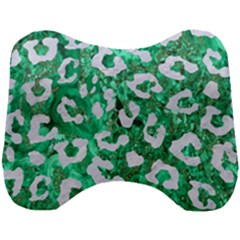 Skin5 White Marble & Green Marble (r) Head Support Cushion by trendistuff