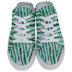 Skin4 White Marble & Green Marble Half Slippers