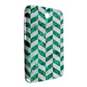CHEVRON1 WHITE MARBLE & GREEN MARBLE Samsung Galaxy Note 8.0 N5100 Hardshell Case  View2