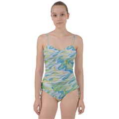 Ribbons Sweetheart Tankini Set by lwdstudio