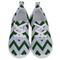 CHEVRON9 WHITE MARBLE & GREEN LEATHER (R) Running Shoes View1