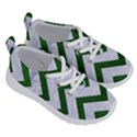 CHEVRON9 WHITE MARBLE & GREEN LEATHER (R) Running Shoes View3