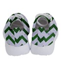 CHEVRON9 WHITE MARBLE & GREEN LEATHER (R) Running Shoes View4