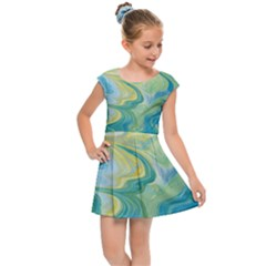 Melting Kids Cap Sleeve Dress