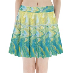 Melting Pleated Mini Skirt
