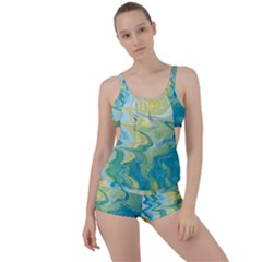 Melting Boyleg Tankini Set