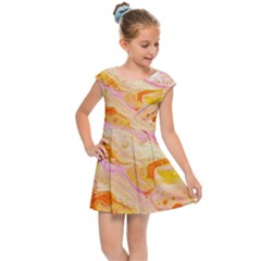 Sun Storm Kids Cap Sleeve Dress