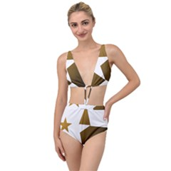 Logouff Tied Up Two Piece Swimsuit