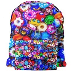 Colorful Beads Giant Full Print Backpack