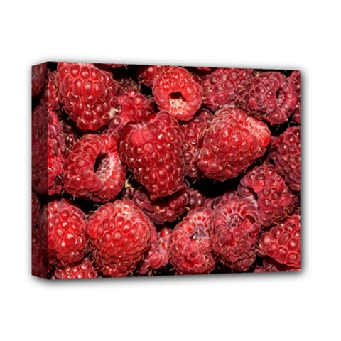 Red Raspberries Deluxe Canvas 14  X 11  by FunnyCow