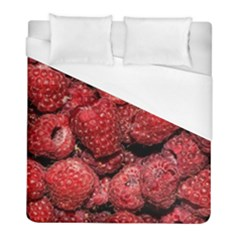 Red Raspberries Duvet Cover (full/ Double Size) by FunnyCow