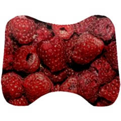 Red Raspberries Head Support Cushion by FunnyCow