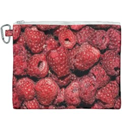 Red Raspberries Canvas Cosmetic Bag (xxxl) by FunnyCow