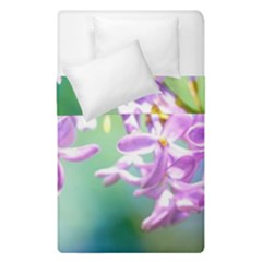 Beautiful Pink Lilac Flowers Duvet Cover Double Side (single Size) by FunnyCow