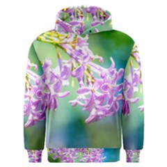 Beautiful Pink Lilac Flowers Men s Overhead Hoodie by FunnyCow