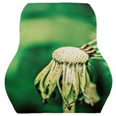 Dandelion Flower Green Chief Car Seat Back Cushion  by FunnyCow