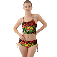 Colorful Tulips On A Sunny Day Mini Tank Bikini Set by FunnyCow