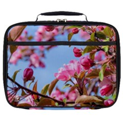 Crab Apple Blossoms Full Print Lunch Bag by FunnyCow
