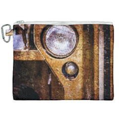 Vintage Off Roader Car Headlight Canvas Cosmetic Bag (xxl) by FunnyCow