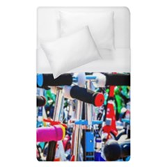 Time To Choose A Scooter Duvet Cover (single Size) by FunnyCow