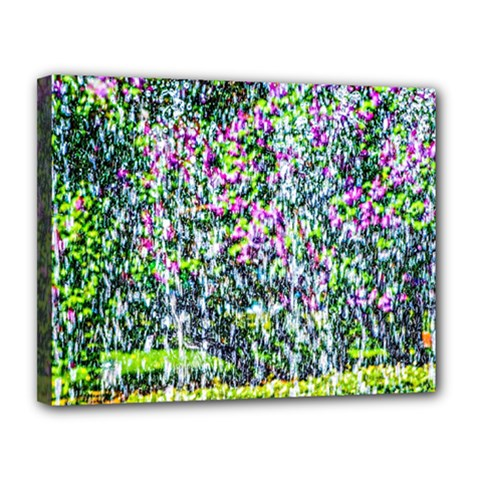 Lilacs Of The First Water Canvas 14  X 11  by FunnyCow