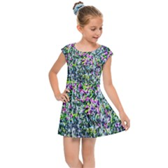 Lilacs Of The First Water Kids Cap Sleeve Dress