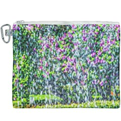 Lilacs Of The First Water Canvas Cosmetic Bag (xxxl) by FunnyCow
