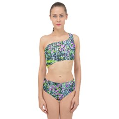 Lilacs Of The First Water Spliced Up Two Piece Swimsuit