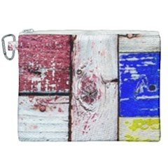 Abstract Art Of Grunge Wood Canvas Cosmetic Bag (xxl) by FunnyCow