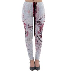 Abstract Art Of Grunge Wood Lightweight Velour Leggings by FunnyCow
