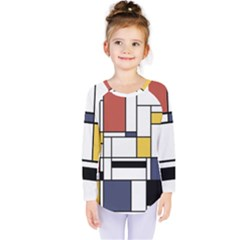 Abstract Art Of Avant Garde Kids  Long Sleeve Tee