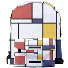 Abstract Art Of Avant Garde Giant Full Print Backpack by FunnyCow