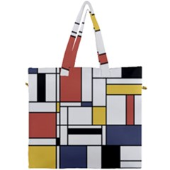 Abstract Art Of Avant Garde Canvas Travel Bag by FunnyCow