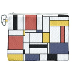 Abstract Art Of Avant Garde Canvas Cosmetic Bag (xxl) by FunnyCow