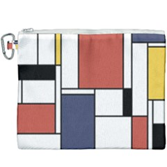 Neoplasticism Abstract Art Canvas Cosmetic Bag (xxxl) by FunnyCow