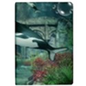 Wonderful Orca In Deep Underwater World iPad Air Flip View1