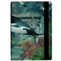 Wonderful Orca In Deep Underwater World iPad Air Flip View2
