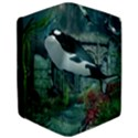 Wonderful Orca In Deep Underwater World iPad Air Flip View3