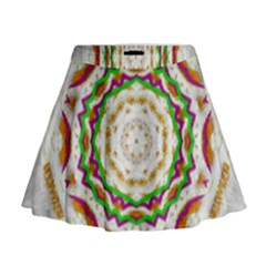 Fauna In Bohemian Midsummer Style Mini Flare Skirt by pepitasart