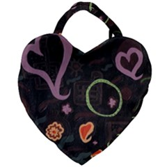 Hearts Giant Heart Shaped Tote