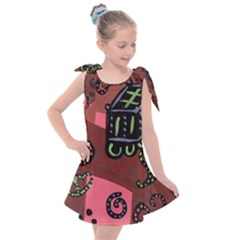 Floating Bed Kids  Tie Up Tunic Dress