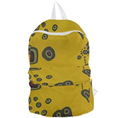 Peas Four Leaf Clover Foldable Lightweight Backpack by snowwhitegirl