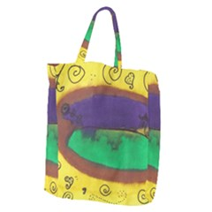 Landscape Egg Giant Grocery Tote