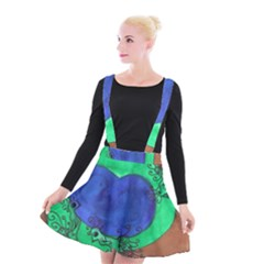 Peacocks Suspender Skater Skirt